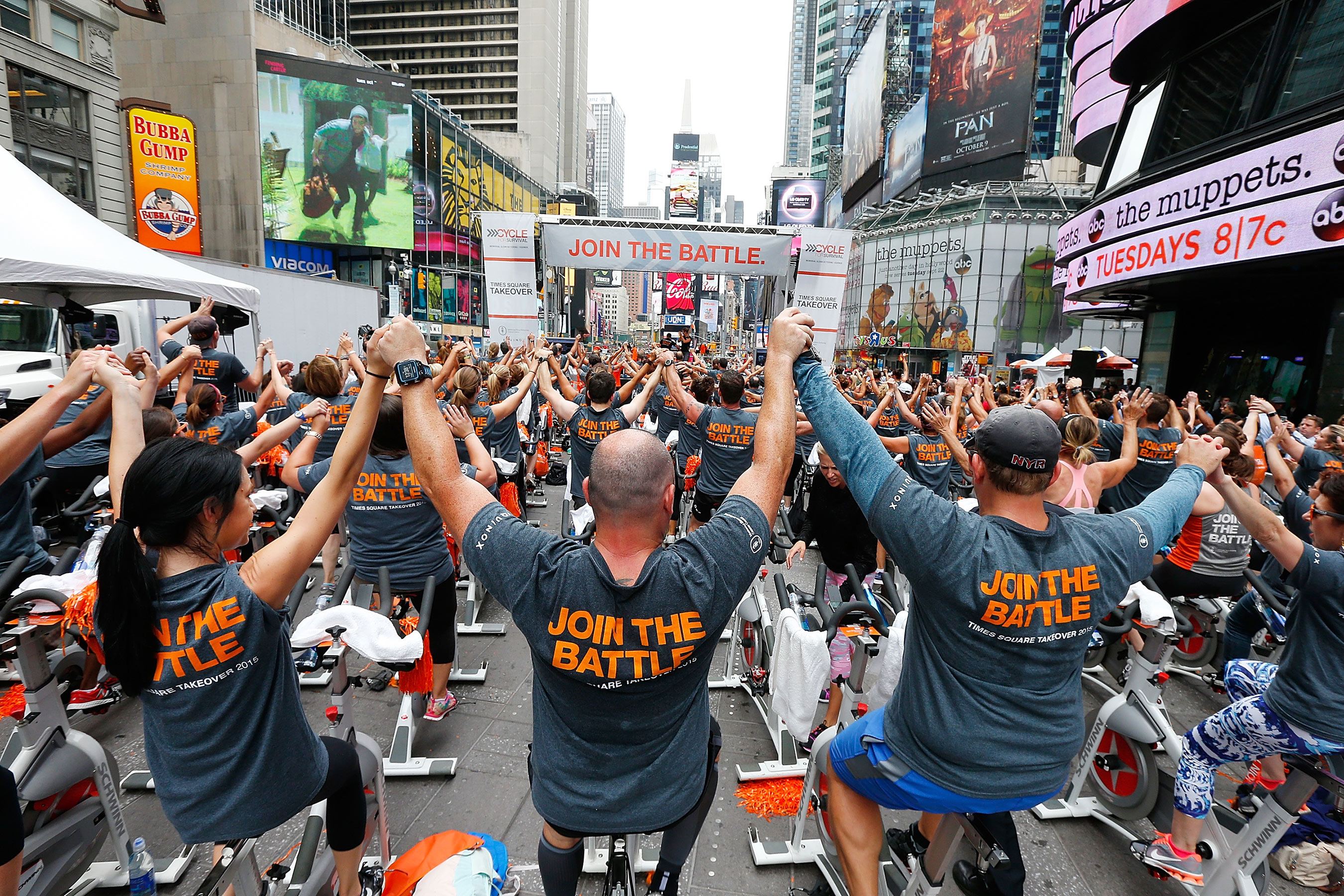 Star Mountain is a Proud Participant of the Annual Cycle for Survival Event for Rare Cancer Research in New York, NY